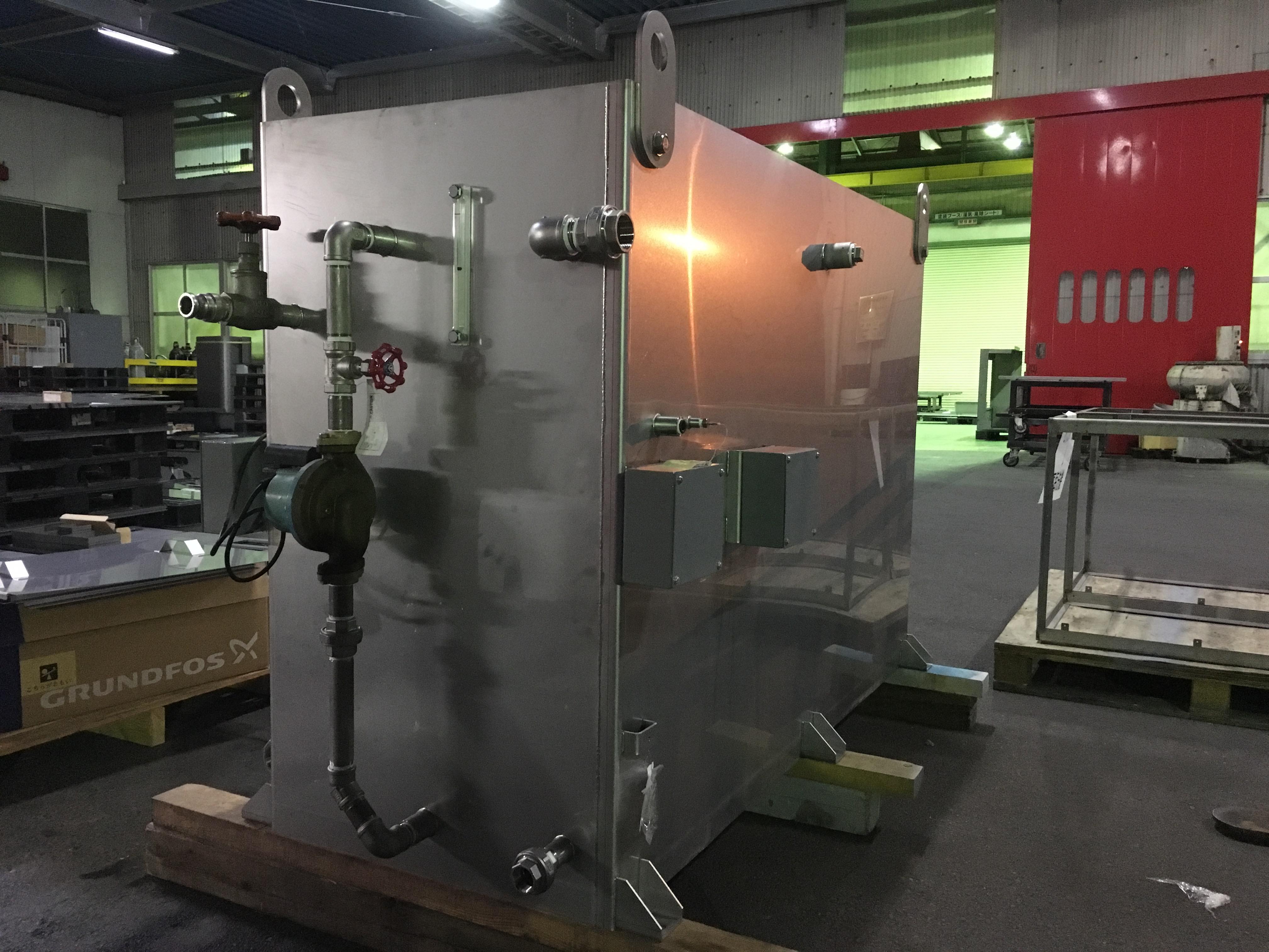 熱酒機タンク装置