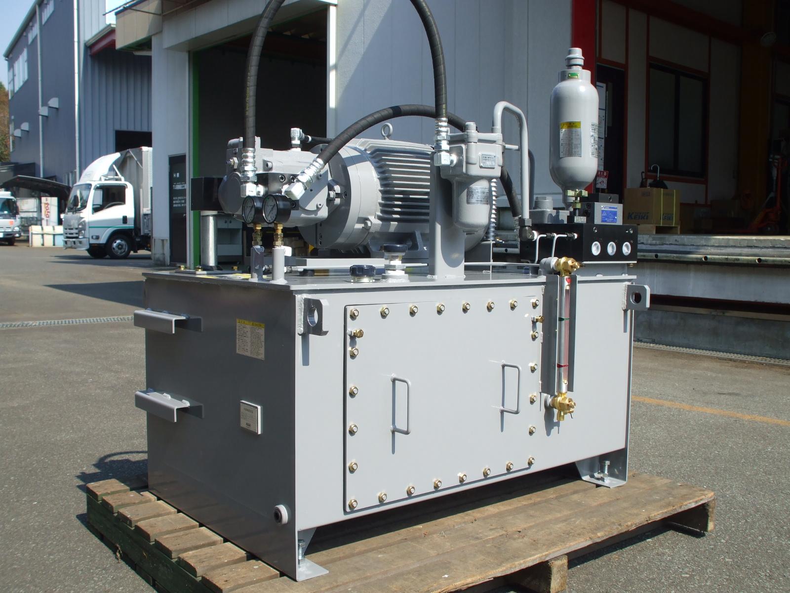 油圧ユニット装置