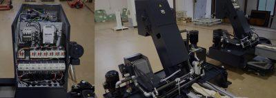 社内での配線・電装組み立て対応による、通電試験・試運転実施